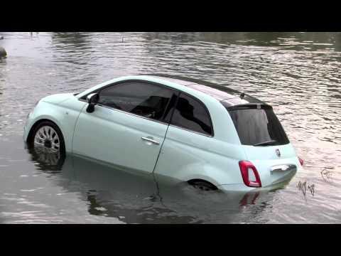 New Fiat 500 sunk during presentation in Vilnius