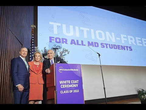 NYU School of Medicine Offers Full-Tuition Scholarships