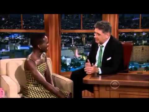 Lupita Nyong`o on Craig Ferguson 12 November, 2013   Full Interview
