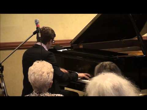 """007"" by Maurice Imhof - 2015 West Coast Ragtime Festival - James Bond Theme Stride Piano Medley"