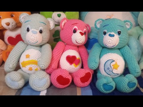 Amigurumi Valentine Teddy Bear Part Two : Amigurumi crochet Care Bear tutorial part 1 Doovi