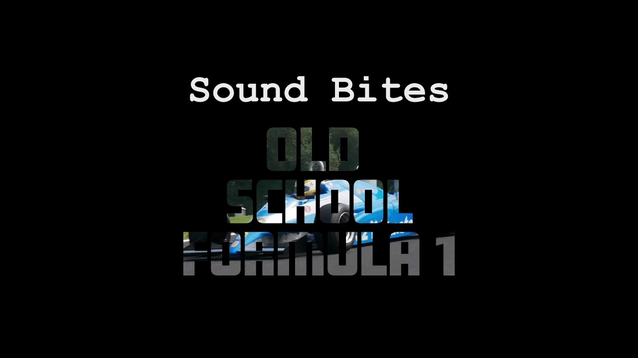 SOUND BITES - Formula One Drive-by - PRORECORDINGS