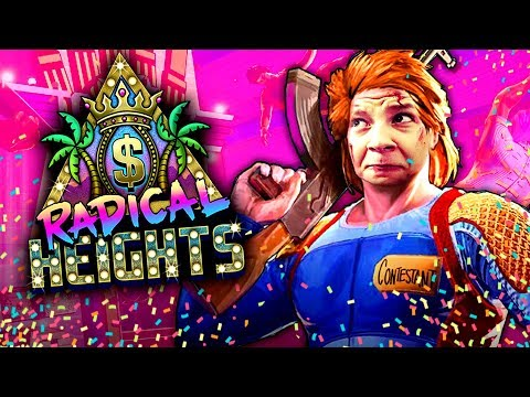 80er Battle Royale Gameshow - Radical Heights X-TREME Early-Access