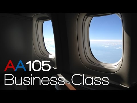 [HD] AA105 LHR-JFK BUSINESS CLASS