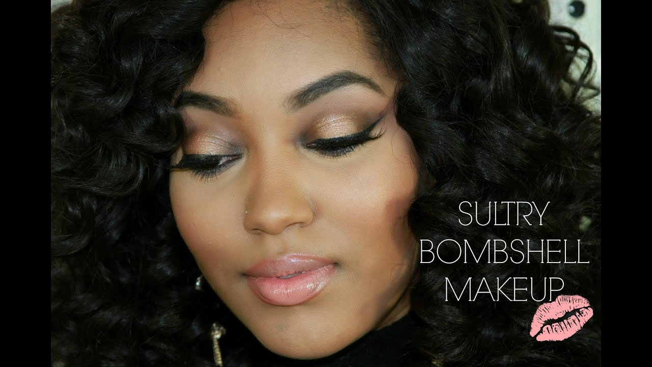 Valentine's Day Bombshell Makeup Tutorial
