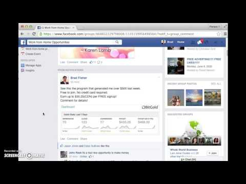 Facebook Marketing 101 – Basic training.