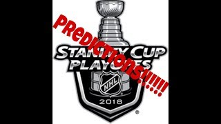 I Predict the NHL Stanley Cup Playoffs for 2018