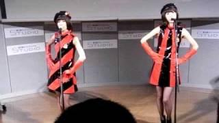 20090911 KDDIデザイニングスタジオ@原宿。ラブヘイリリースイベント.