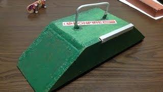 Tech Deck 指スケ Wooden Fun Box 木製ファンボックスの作り方
