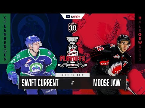 WHL IN 30 || Swift Current Broncos vs Moose Jaw Warriors – April 13, 2018