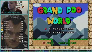 Grand Poo World 100% Speedrun 2:08:20
