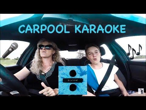 Carpool Karaoke w/ my Mum to Ed Sheeran's Divide album