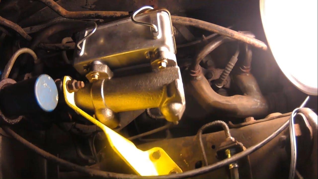 hight resolution of replacing brake master cylinder 88 p30 chevy winnebago rv