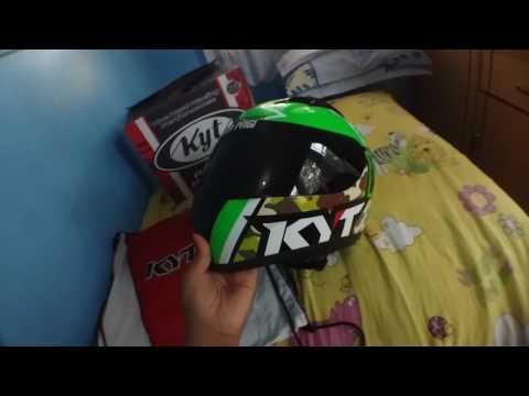 helm kyt R10 FULLFACE(REVIEW) SEKILAS
