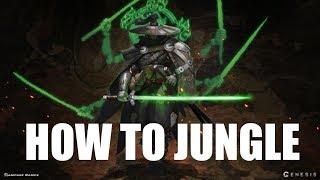 Genesis - How To Jungle Like a Pro (PS4 MOBA Genesis Tutorial)