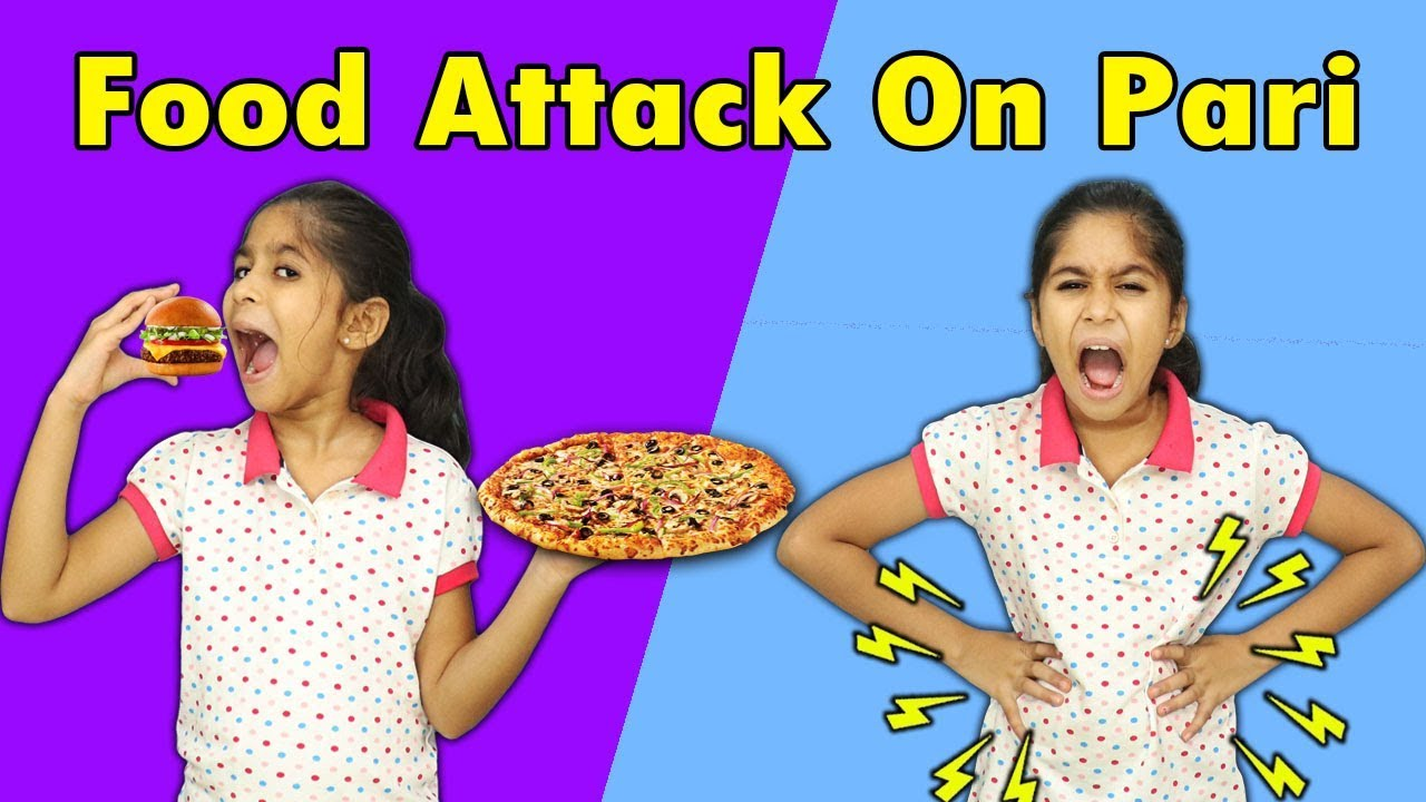 PARI LOVES PIZZA AND BURGER MORAL STORY FOR KIDS   Pari's Lifestyle
