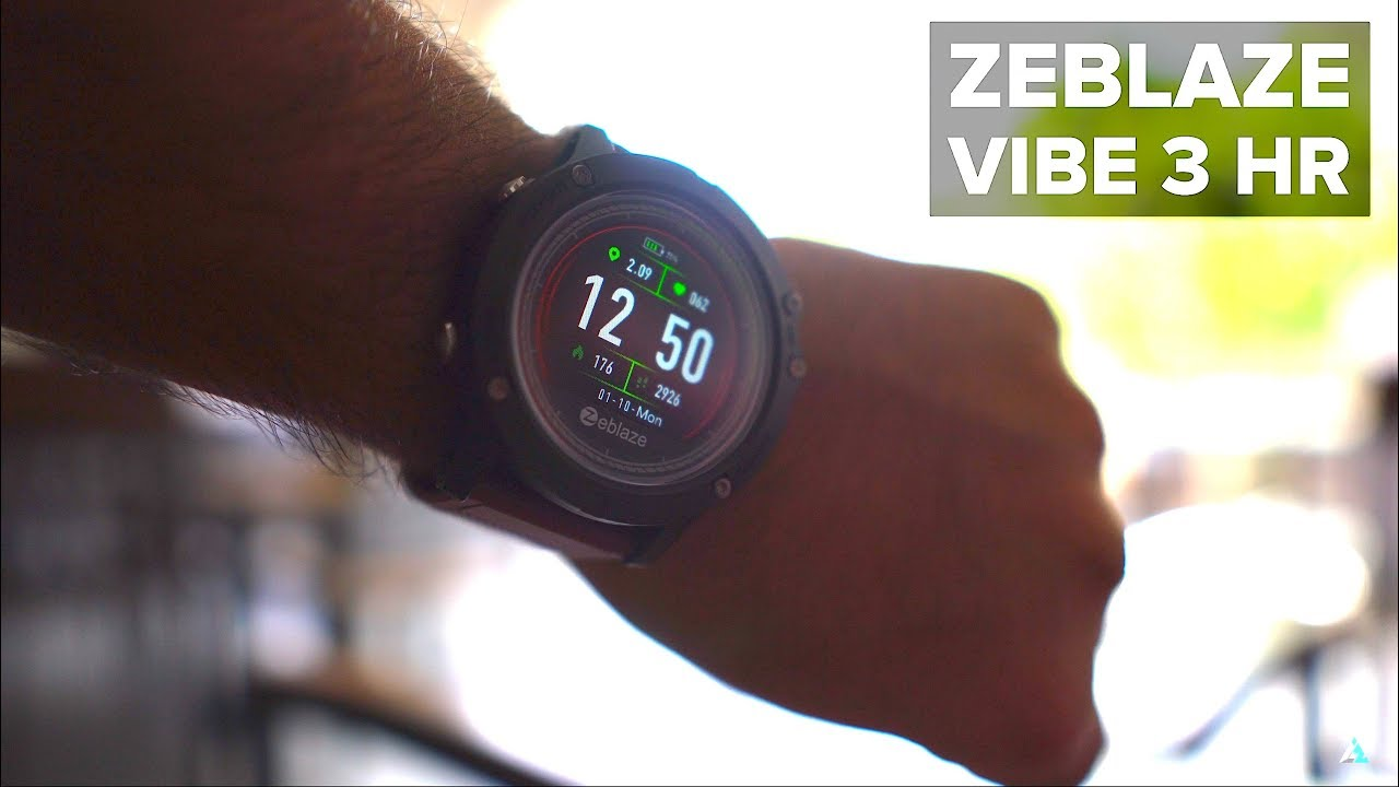 91f608458d6 ZeBlaze Vibe 3 HR REVIEW and UNBOXING [CHEAP SMARTWATCH] - YouTube