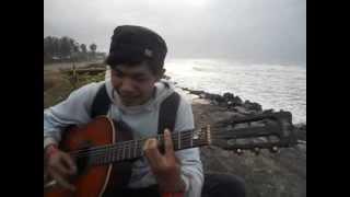 imanez - anak pantai cover (pangandaran beach 2013)