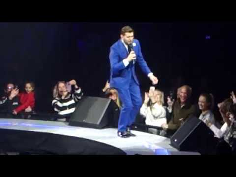 Michael Buble - Such A Night,  (Up A) Lazy River, When You're Smiling, At Last