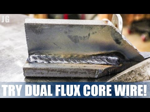 Try Dual Flux Core Wire! Thanks ZILA | JIMBOS GARAGE
