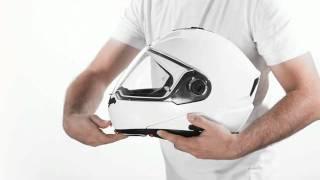 N104: Nolan reinvents the flip-up helmet.