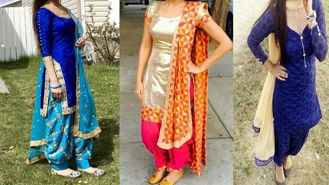 Beautiful Punjabi Suit Designs Punjabi Suits Design 2017 Youtube