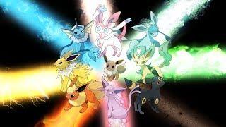 pokemon xy vs elite four champion eevee evolution