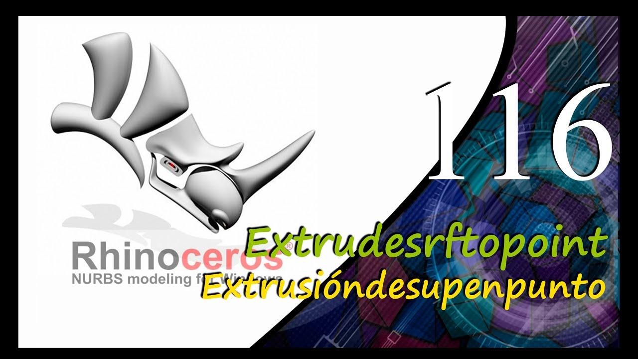 Rhinoceros (Extrudesrftopoint - Extrusióndesupenpunto)