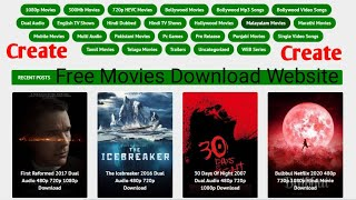 How To Create a Website Blogger Free 9xmovie Theme Full Setep