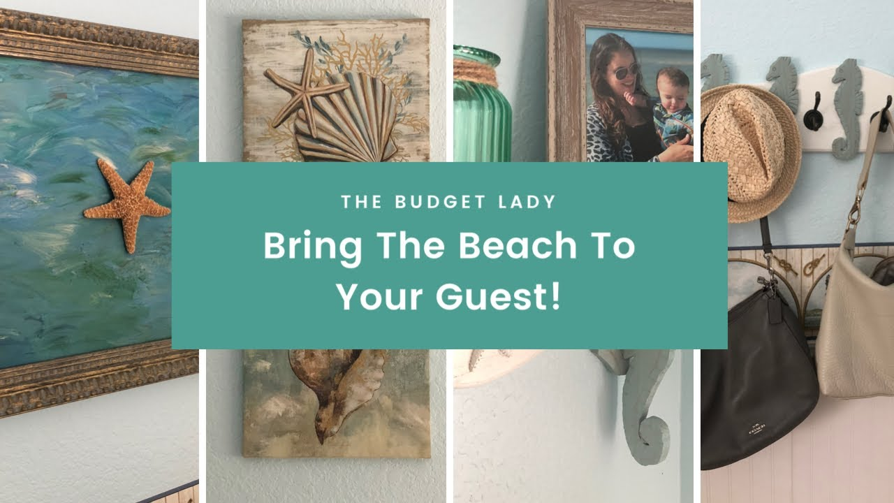 Ultimate Budget Guest Room Ideas Diy Beach Theme Guest Room Tour Youtube