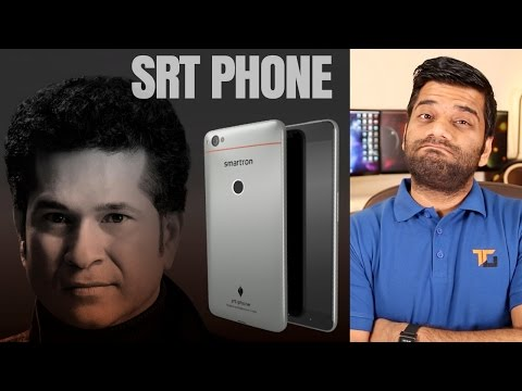 Sachin Tendulkar Phone – Smartron SRT Phone – My Opinions…Not Out??
