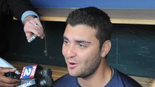 Armando Galarraga talks about the blown call during the Wednesday game