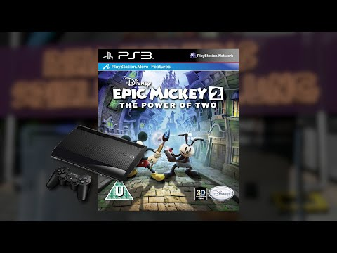 Gameplay : Disney Epic Mickey 2 : The Power of Two [Playstation 3]