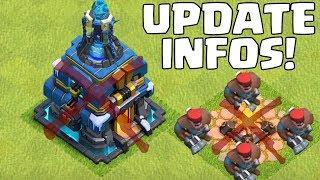 RATHAUS 13 & NEUE TRUPPEN - Update Infos! ☆ Clash of Clans ☆ CoC