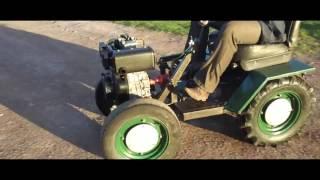 видео Мини-тракторы - самоделки из мотоблока. Самоходы из мотоблока своими руками
