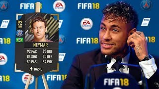 Footballers REACT to their *NEW* FIFA 18 RATING!