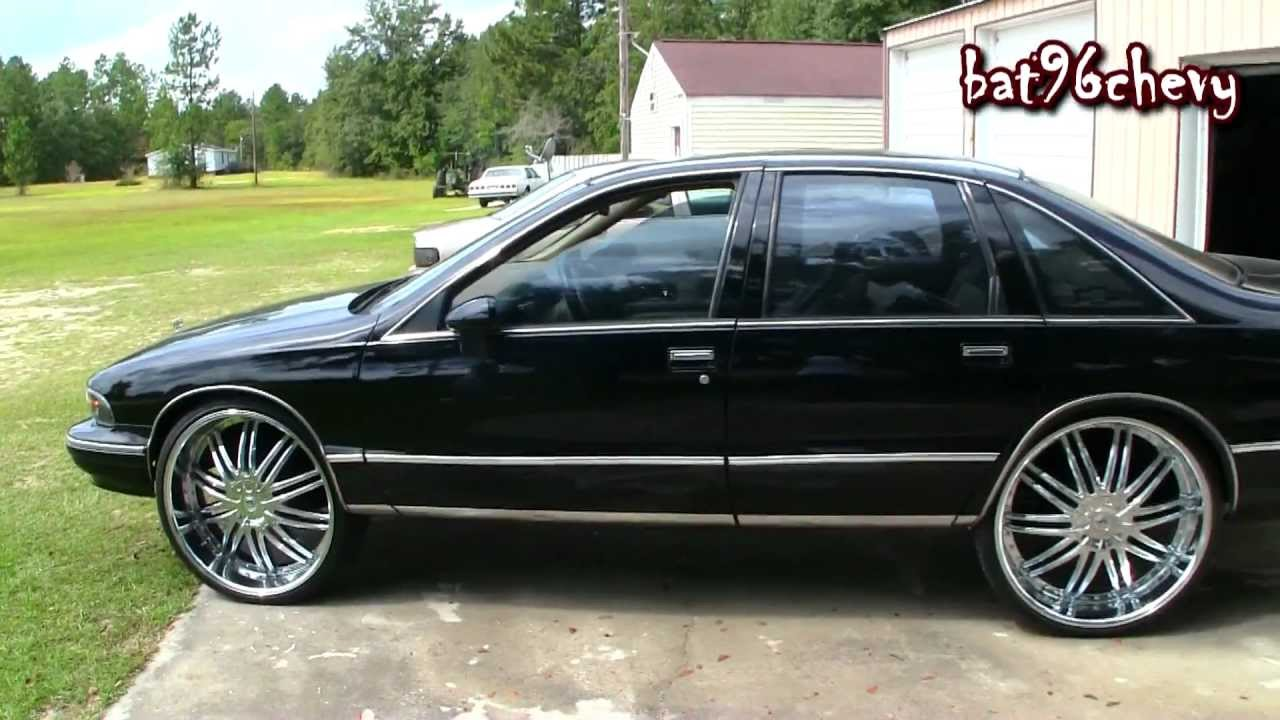 Black 94 Chevy Caprice On 26 Quot Lexani S 1080p Hd Youtube
