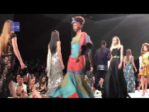 Fashion for You - Trechos do desfile com a modelo angolana Maria Borges