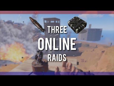 RUSTㆍ4 Rocket Raid for 25k SULFUR   3 Online Raids