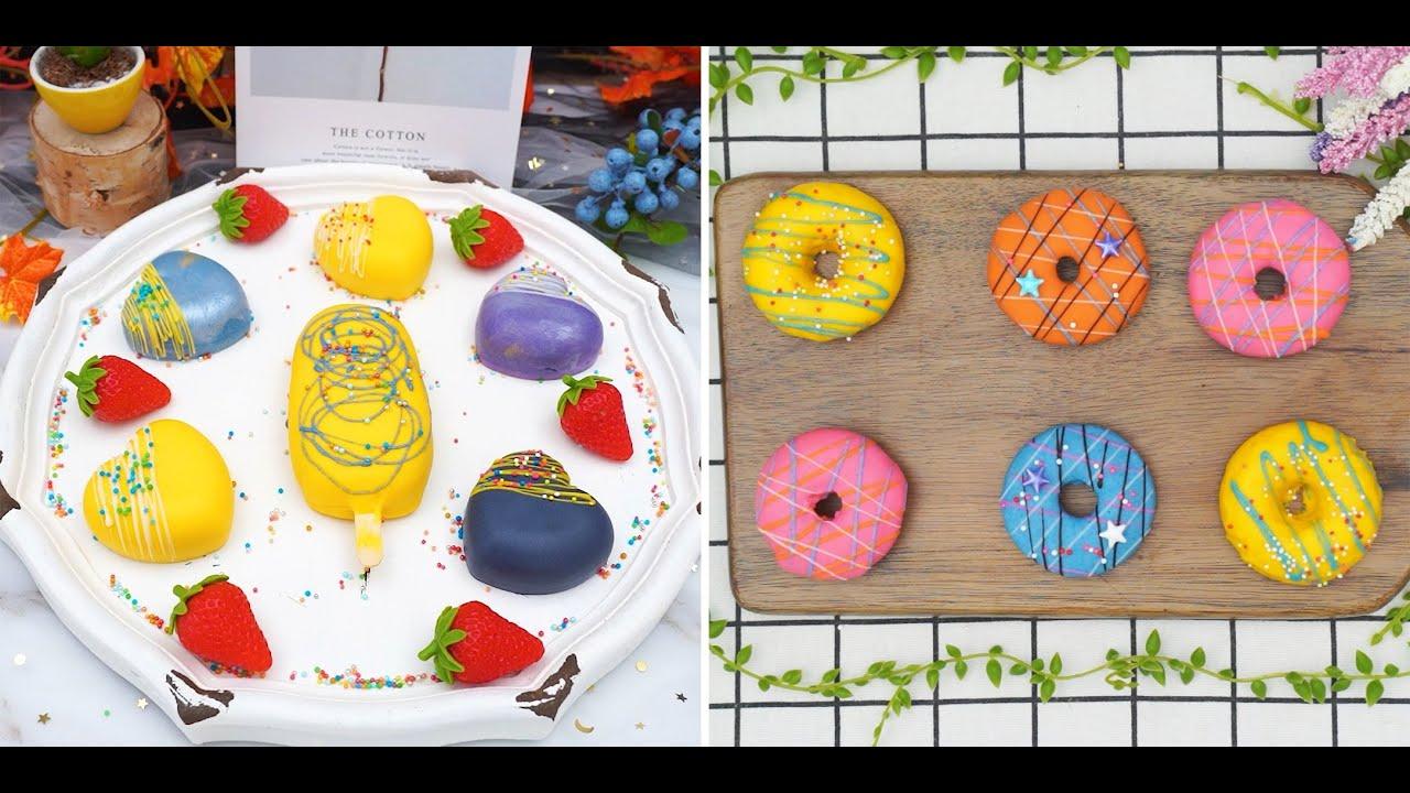 Colorful Cake Decorating Ideas For The Weekend | Amazing Rainbow Cake Compilation |  Mina Cake