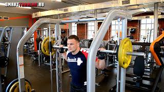 [Икроножные] Подъемы на носки в тренажере Смита | Видеоурок.(Упражнение для икроножных мышц: подъемы на носки в тренажере Смита. Это упражнение развивает внутреннюю,..., 2015-10-01T12:44:54.000Z)