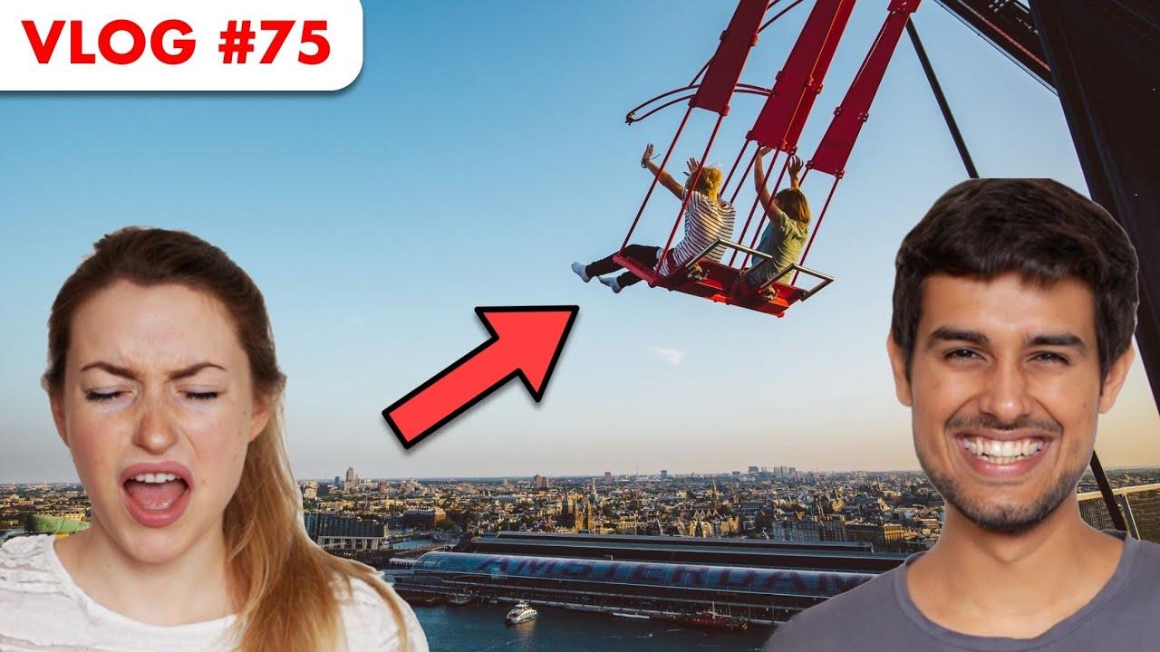 Europe's Highest Swing! | Dhruv Rathee Vlogs