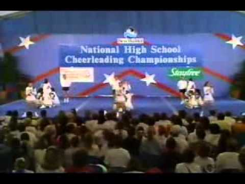 paul laurence dunbar high school 1994 cheerleading youtube