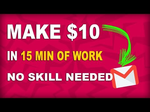 Earn $10 Creating Email Accounts For FREE I Make Money Online
