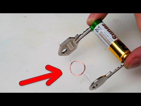 Поделки из батареек своими руками
