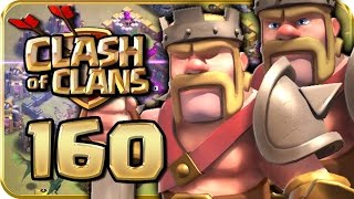 Let's Play CLASH of CLANS 160: CK-Angriff & Funktionen des Barbarenkönigs
