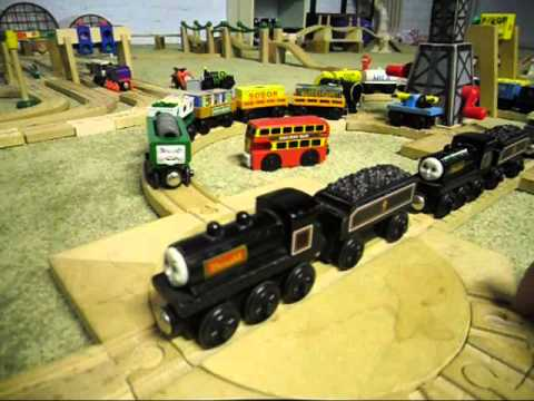 Thomas Wooden Railway Review Duck Donald Douglas And Oliver