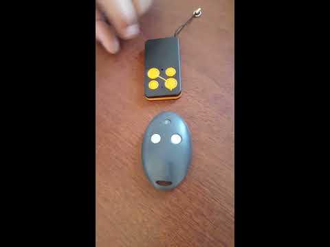 Zaun Tor Handsender Einlernen Youtube