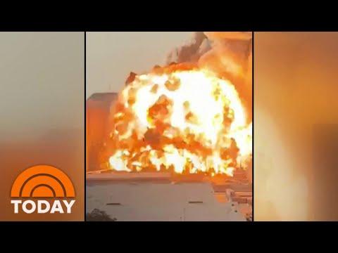 Massive Explosion In