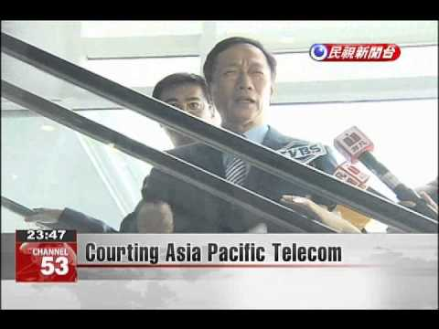 Courting Asia Pacific Telecom
